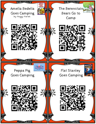 Read A Lot Stories with QR Codes