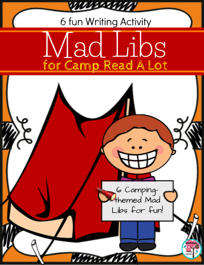 Gorgeous image with camping mad libs printable