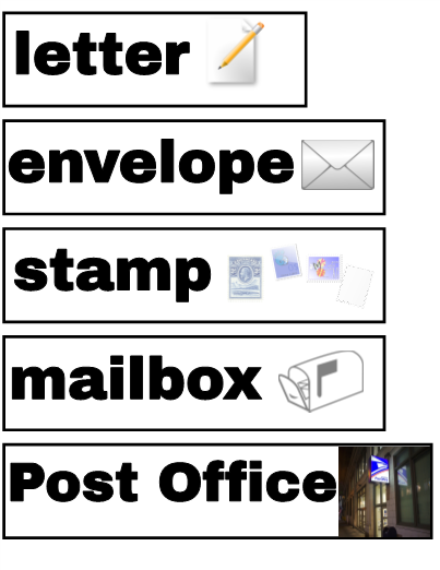 Dramatic play post office for Post office design your own stamps