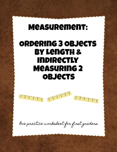 First Grade Measurement Ordering Indirect Measurement