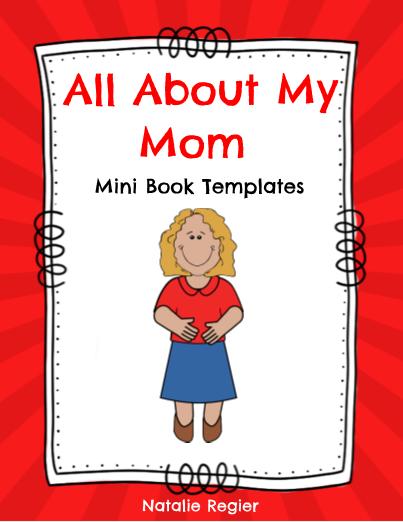 All About My Mom Mini Book Template