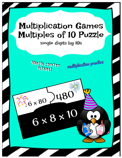 Multiplication Games l FREE Teacher Resources, Activities & Worksheets