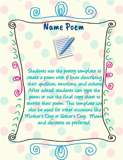 Poetry Activities l FREE Teacher Resources, Activities & Worksheets