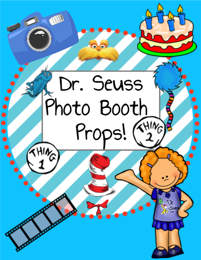 Dr. Seuss Photo Booth Props!
