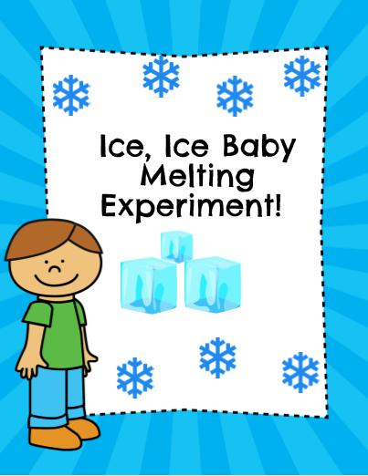 K-2 Ice, Ice Baby Experiment!