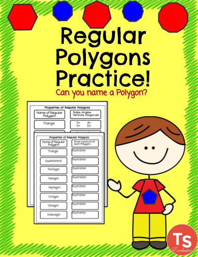 Geometry: Regular Polygons Practice