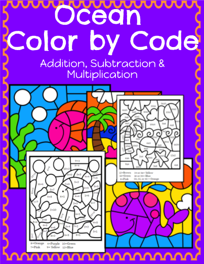 Ocean Color by Code: Math!