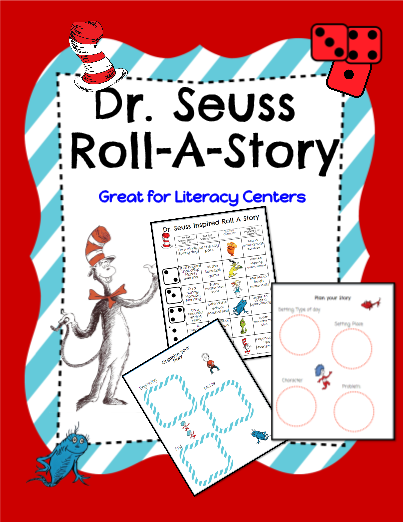 Dr. Seuss Inspired Roll-A-Story!