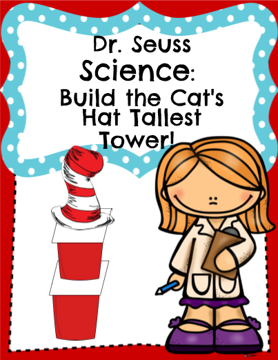Dr Seuss STEMBuild The Cats Hat Tallest Tower