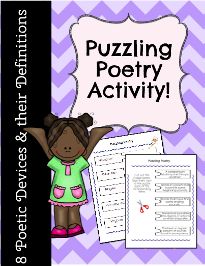 Puzzling Poetry Activity!