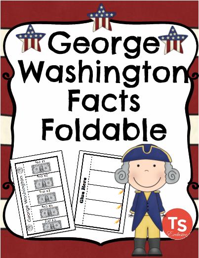 George Washington Fact Foldable!