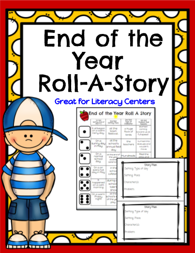 End of the Year Roll-A-Story!